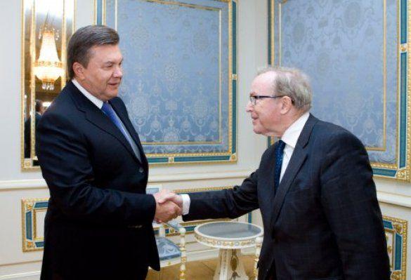 Вілфред Мартенс зустрівся з Януковичем _2