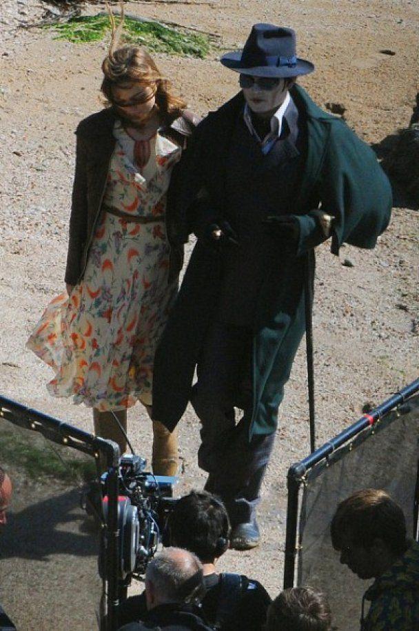 Джонни Депп в роли вампира разочаровал поклонников