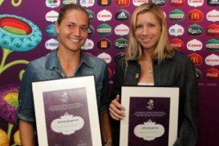 Найвідоміші українські тенісистки стали Друзями Євро-2012