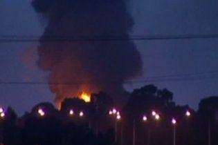 В австралійській столиці горить хімічний завод