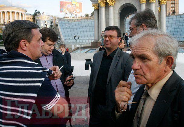 Митинг-реквием памяти Гонгадзе и пропавших журналистов в Киеве