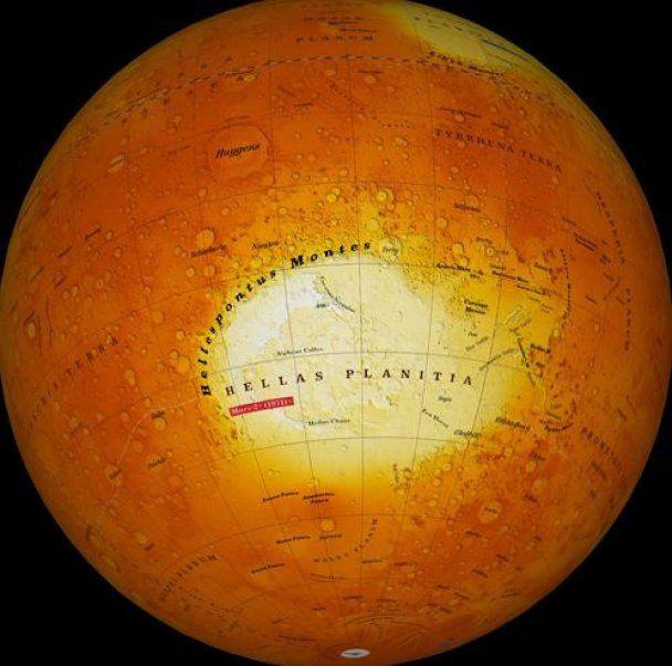Археолог разглядел на снимках Марса каменоломню
