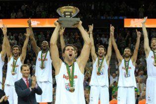 Іспанія стала чемпіоном Європи з баскетболу