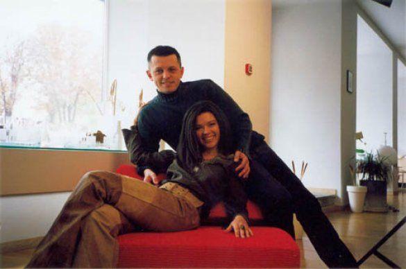 Руслана з чоловіком