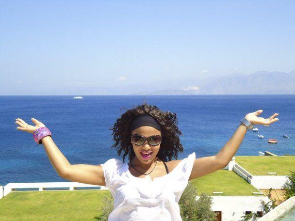 Влюбленная Гайтана уединилась на острове Родос