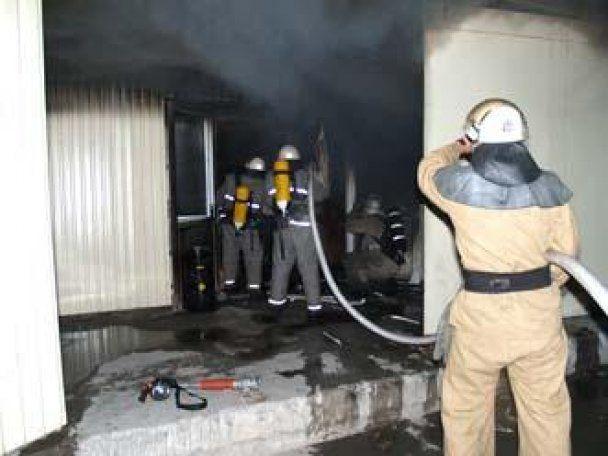 В Крыму сгорел склад с медикаментами: в воздух попали токсические вещества