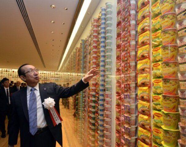В Японии открыли первый в мире музей лапши быстрого приготовления