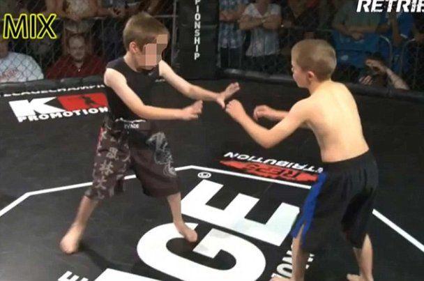 Британцы попались на организации детских боев без правил