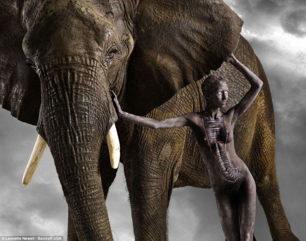 Фотограф Линетт Ньювелл открыл в моделях животные инстинкты