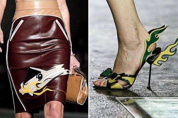 Milan Fashion Week: кадиллаки, ретро и игра фактур