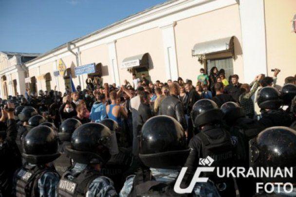 МВС: у затриманих в Умані свободівців була зброя