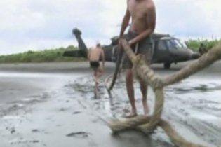 Полиция Колумбии захватила субмарину, набитую наркотиками