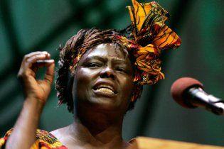 В Кении скончалась лауреат Нобелевской премии мира