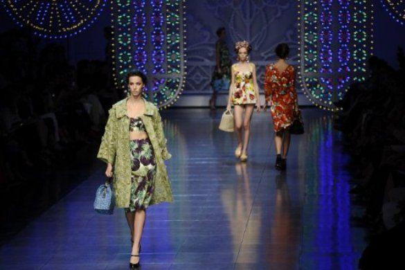Dolce&Gabbana на MFW_1