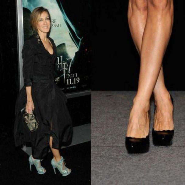 Сара Джесіка Паркер шокувала Нью-Йорк некрасивими ногами