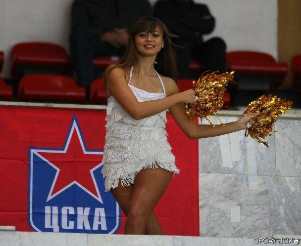 Еротична підтримка московського ЦСКА
