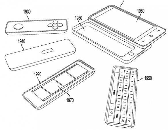 Microsoft запатентувала смартфон-трансформер