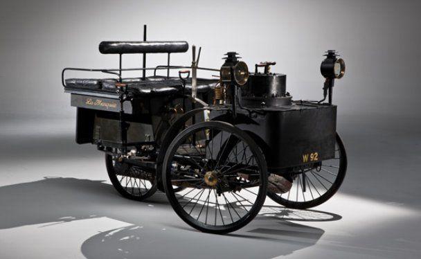 Найперший у світі автомобіль пустять з молотка