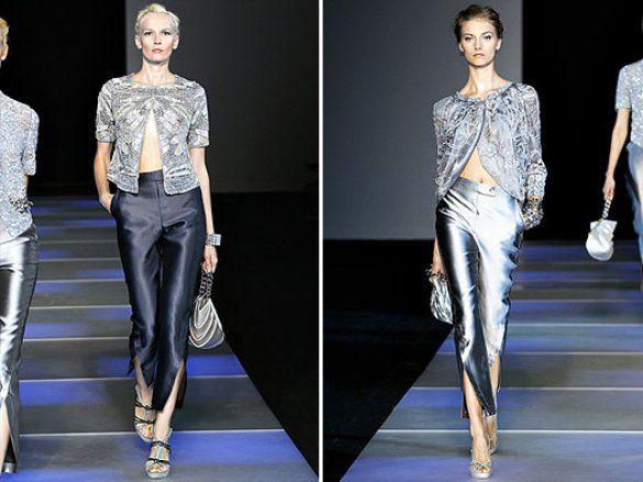 Giorgio Armani на Milan Fashion Week_12