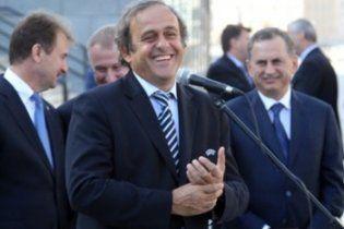 Платіні у захваті від підготовки України до Євро-2012: браво, Україна!
