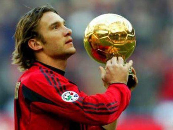 Шевченко - володар золотого м'яча