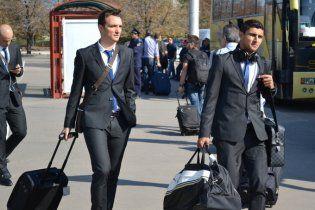 АПОЕЛ прибув до Донецька у найсильнішому складі