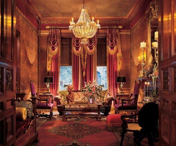 Микки Рурк живет в золотых комнатах на Манхэттене