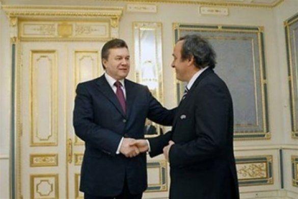 Янукович і Платіні у Києві. 27 вересня
