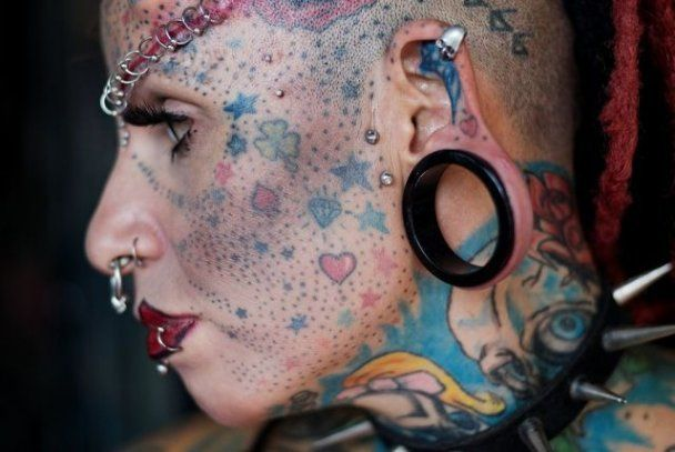 В Мексике появилась женщина-вампир