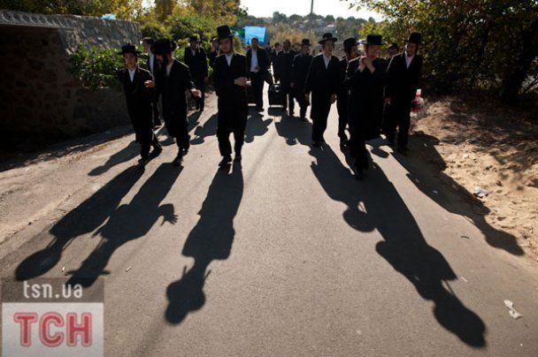 Хасиды в Умани готовятся к встрече Нового 5772 года