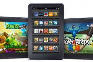 Amazon представила дешевого конкурента планшета Apple iPad
