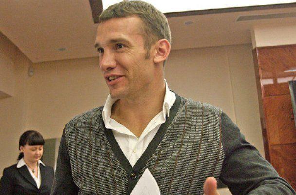 Андрей Шевченко празднует 35-летие