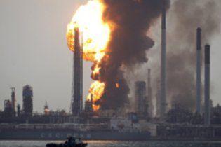 В Сингапуре взорвался нефтеперерабатывающий завод