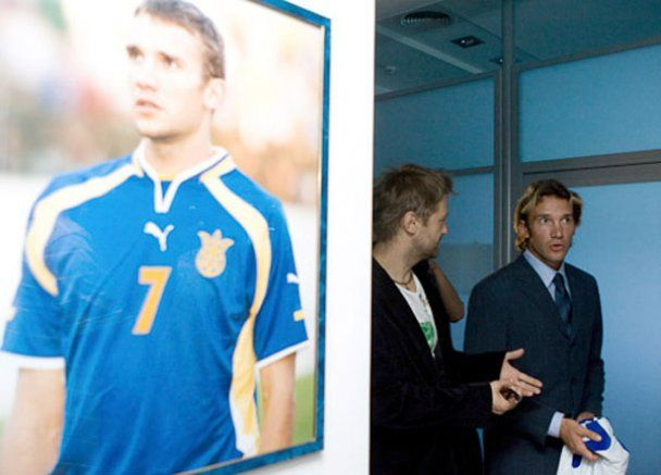 Андрій Шевченко святкує 35-річчя