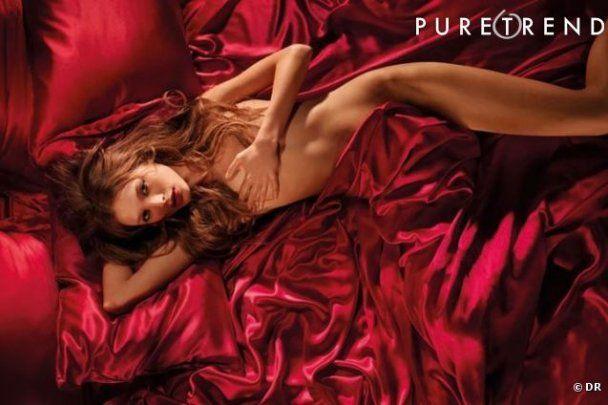 Відомий бренд постільної білизни розкритикували за пози моделі