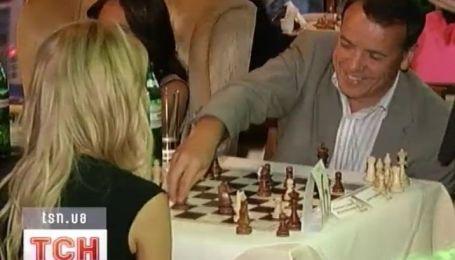 Вчера в Киеве проходил звездный шахматный турнир