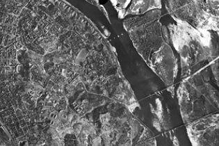 Всю территорию Украины сфотографировали с высоты птичьего полета