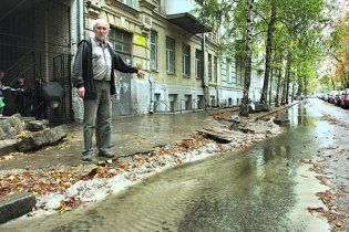 У Києві підтоплено будинки депутатів