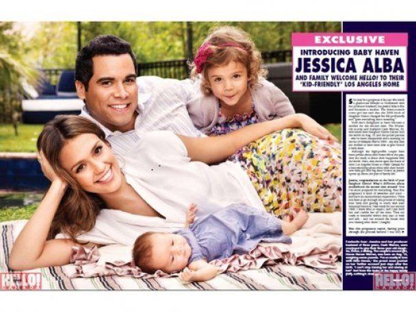 Красивая семья Джессики Альбы украсила обложки сразу двух глянцев