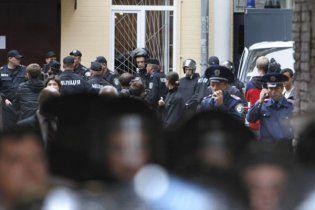 На Хрещатику - 1000 міліціонерів, прихильники Тимошенко постійно прибувають