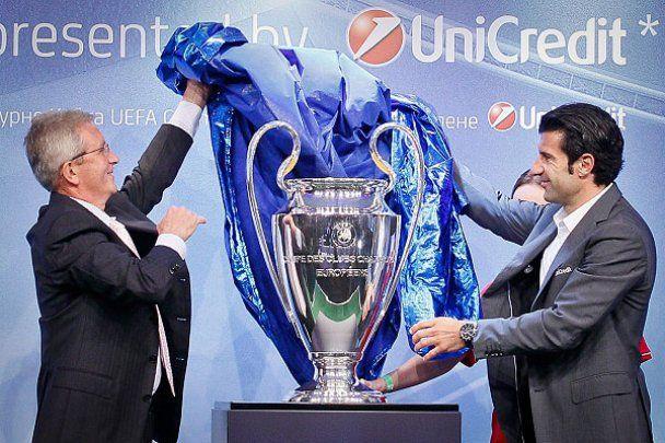 До Києва привезли Кубок Ліги чемпіонів УЄФА
