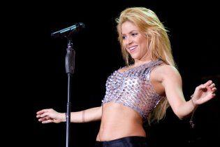 """Шакира в кожаных штанах зажгла """"Олимпийский"""" (видео)"""