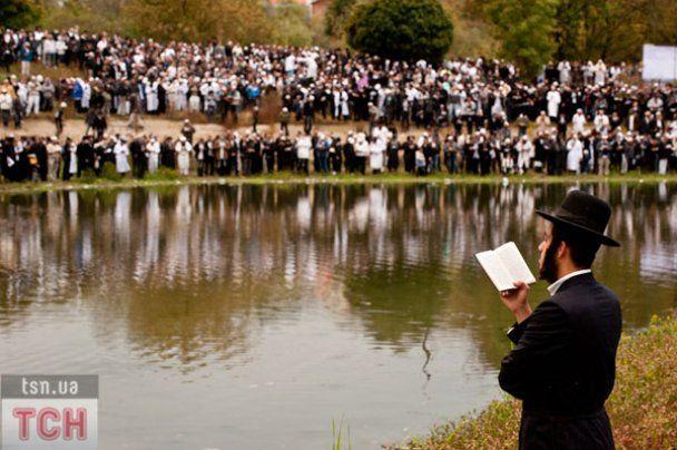 Рекордное количество хасидов приехало на праздник Рош га-Шана в Умань