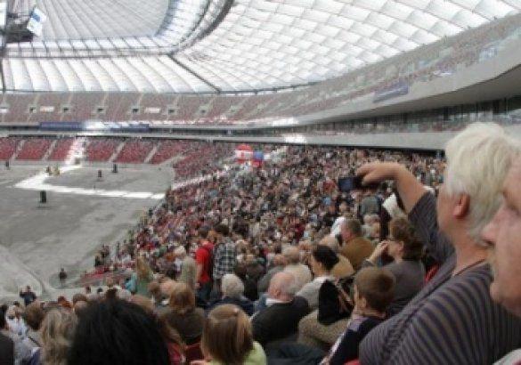 Національний стадіон у Варшаві (2 жовтня 2011 року)