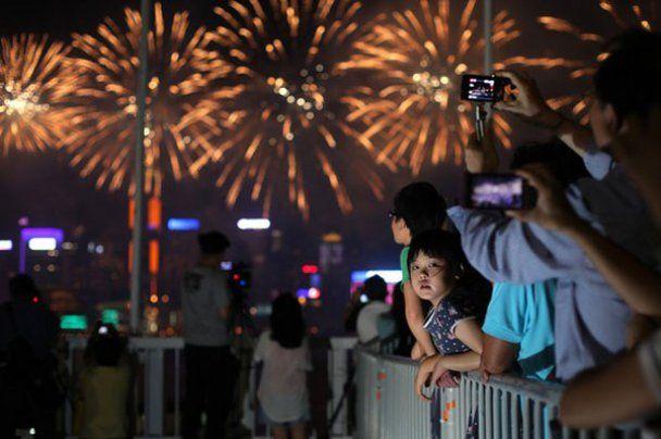 Масштабне святкування 62-ої річниці утворення КНР