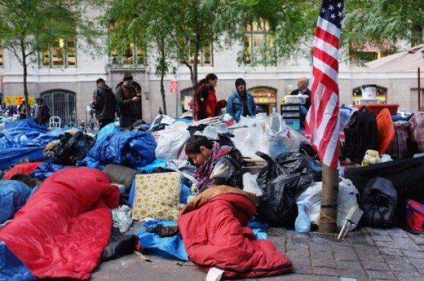 """США охватили массовые протесты против """"убийства американской мечты"""""""