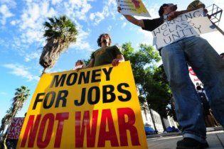 Невдоволені американці беруть в облогу банкірів