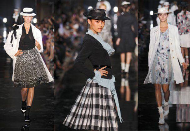 Героини Недели моды в Париже: хулиганки, куртизанки и пай-девочки