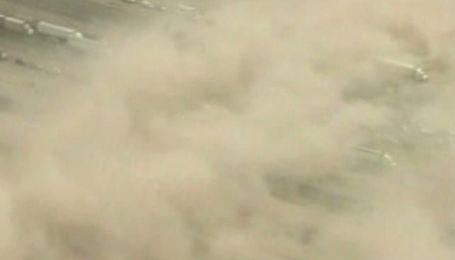 Песчаная буря накрыла Аризону, есть жертвы и пострадавшие