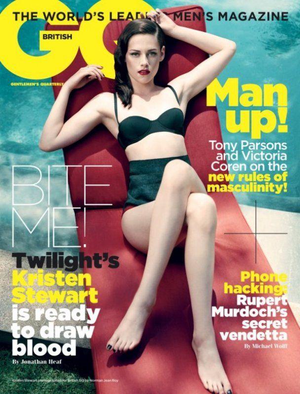 Крістен Стюарт подорослішала і роздягнулася для чоловічого журналу